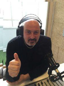 Carlos Moreno Minguito en 10 Radio el día de la presentación de la emisora